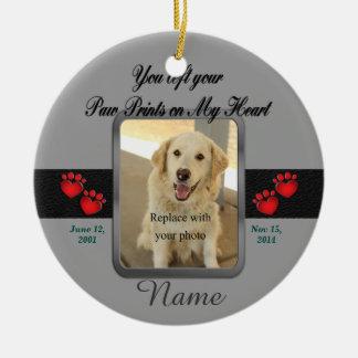 Pet Memorial Christmas Ceramic Ornament