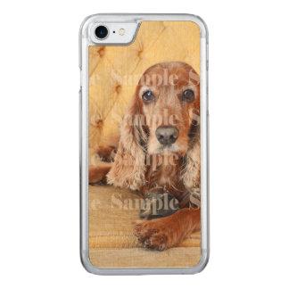 Pet memorial photo carved iPhone 8/7 case