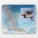 Pet Memorial Rainbow Bridge Mousepad - Personalize