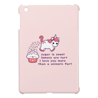 Pet mignon de licorne coque pour iPad mini