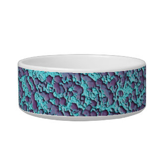 Pet-Old-Plaster-Blue-Grape-Water-Food-Dish Bowl