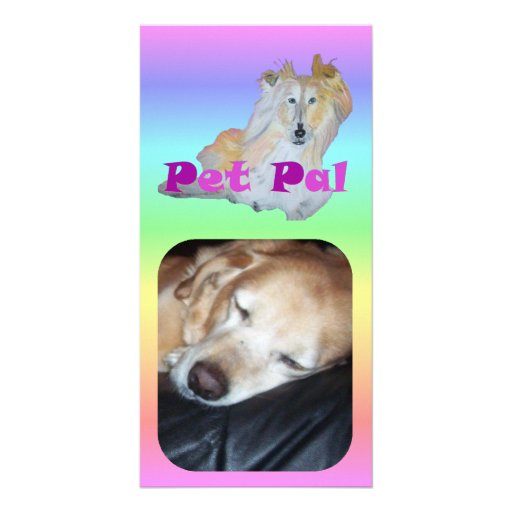 Pet Pal Photo Greeting Card