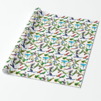 Pet Parrots Galore Wrapping Paper