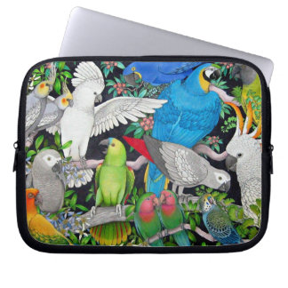 Pet Parrots of the World Electronics Bag