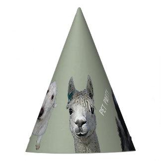 Pet Party Customizable Hat