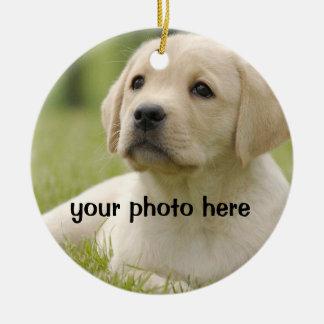 Pet Photo Gifts - Cat Memorial - Dog Memorial Ceramic Ornament