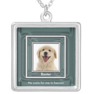 Pet Photo Memorial Necklace