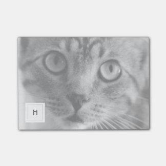 Pet Photo Personalized Monogram Post-it Notes
