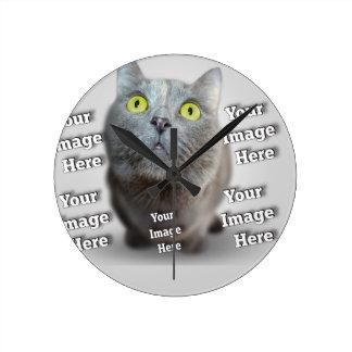 Pet Photo Template Clocks