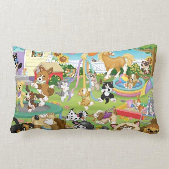 Pet Play Lumbar Pillow