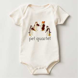 Pet Quartet Baby Bodysuit