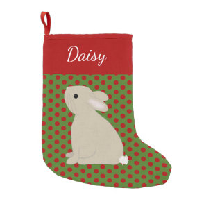 641a065d8 Pet Rabbit Personalized Christmas Small Christmas Stocking