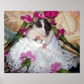 Pet Rat Bride Trudy Poster