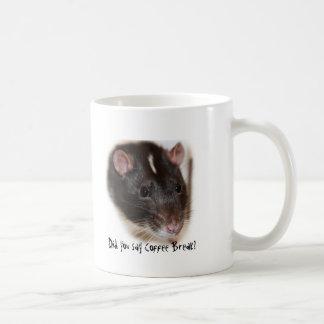 Pet Rat Coffee Break Mug
