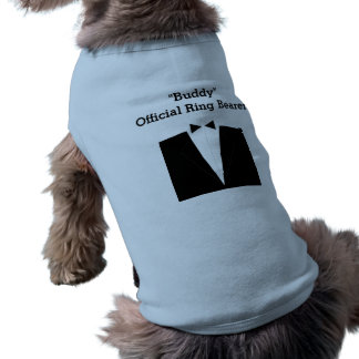 Pet Ring Bearer Dog T-shirt