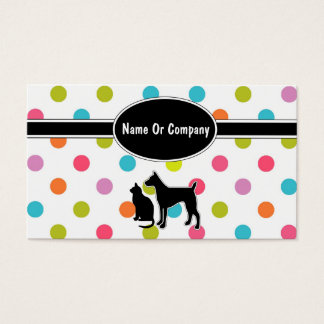 Pet Service Business Cards