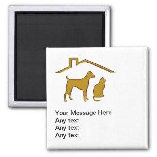 Pet Service Business Magnets