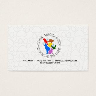 Pet Service/Groomer Business Card
