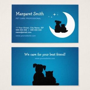 Pet sitter business cards yelomphonecompany pet sitter business cards colourmoves