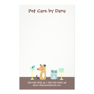 Pet Sitter's Business Flyer
