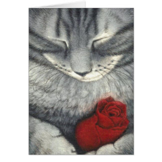 Pet Sympathy Card (Cat)