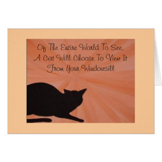 Pet Sympathy Card - Cat