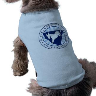 Pet T-Shirt Cabarrus Democrat Party Official Logo