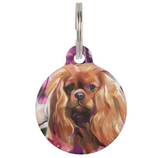 Pet TAG | 'Ruby' Ruby Cavalier Art