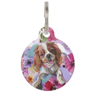 Pet TAG | 'Sunshine' Blenheim Cavalier Art