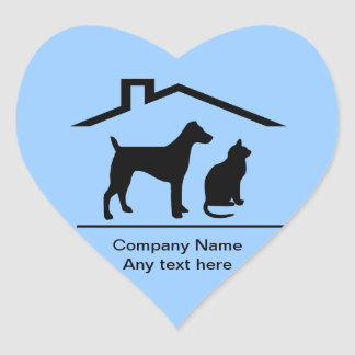 Pet Theme Business Stickers
