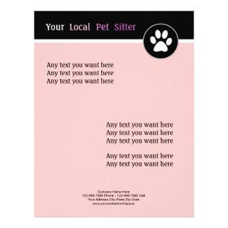 Pet Theme Flyer Stationary Letterhead