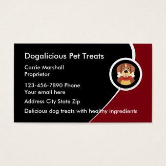 Pet treats Business Cards