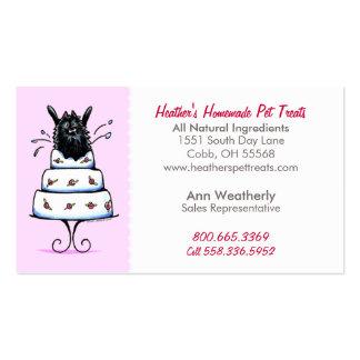 Pet Treats Specialty Bakery Pomeranian Baby Pink Business Card