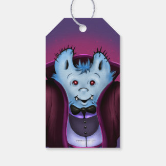 PET VAMPY HALLOWEEN  GIFT TAG 2 PACK OF GIFT TAGS