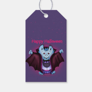 PET VAMPY HALLOWEEN  GIFT TAG PACK OF GIFT TAGS