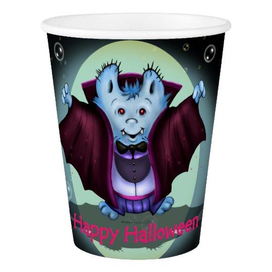 PET VAMPY HALLOWEEN  PAPER CUP