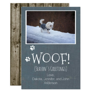 Pet Winter Holiday Card
