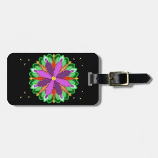 Petal Drops Personalized Luggage Tag