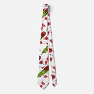 """Petal Fall #1"" Flower Garden Neck Tie"