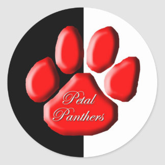 Petal Panthers Sticker