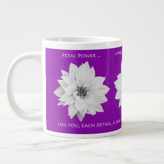 Petal Power Large Coffee Mug