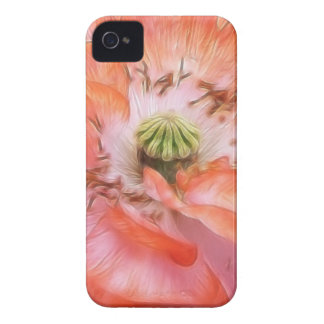Petal Power - Ruffled Poppy Case-Mate iPhone 4 Case