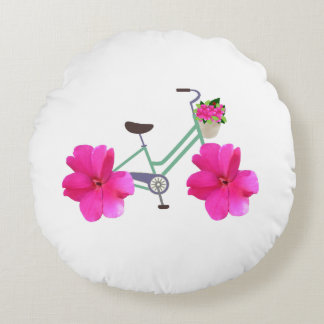 Petal Pusher Bicycle Pillow