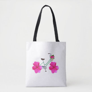 Petal Pusher Bike Tote Bag