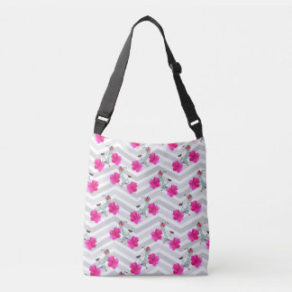 Petal Pusher Chevron Tote Bag
