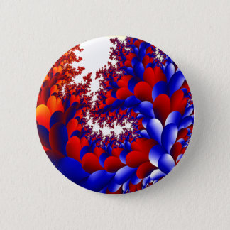 Petal With A Twist 2 Inch Round Button