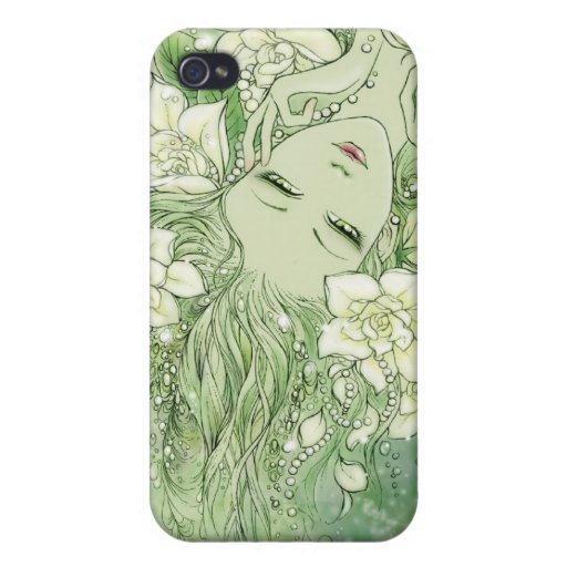 Petals and Pearls iPhone 4 Case