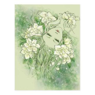 Petals and Pearls Postcard