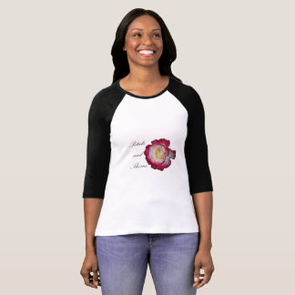 Petals and Thorns 3/4 Raglan Shirt