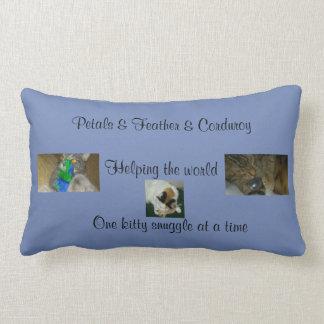 Petals & Feather & Corduroy pillow